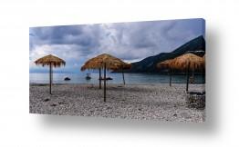 צילומים מזג-אוויר | חוף ביום סגרירי