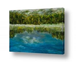 ציורים מים | השתקפות
