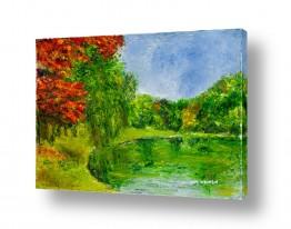 ציורים מים | סתיו