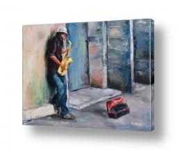 ציורים ציור | ברחובות תל אביב