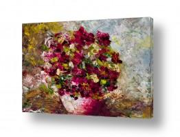 ציורים נופים וטבע | פרחים
