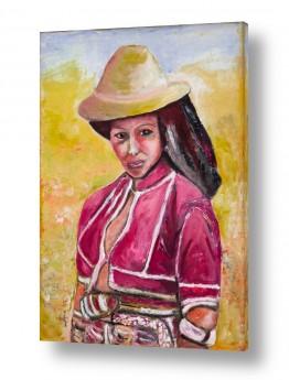 אנשים נשים | נערת  המדבר