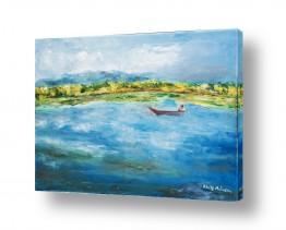 תמונות לסלון | על  אגם אינליי-בורמה