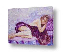 ציורים עירום | חלומות כחולים