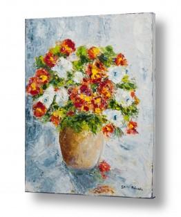 טבע דומם אגרטל פרחים | פרחים