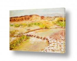 תמונות נופים נוף מדבר | שטפון במדבר