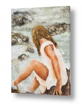 אמנים מפורסמים ציורים שנמכרו | ליד הנהר