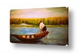 ציורים אנשים ודמויות | בורמה-דייג