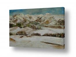 מזג אויר שלג | נוף חורפי