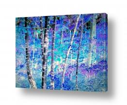 תמונות לחדרי שינה | היער הכחול