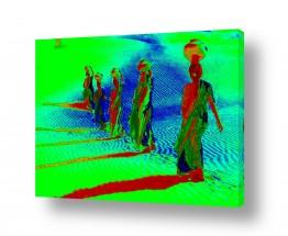 ציורים אמנות דיגיטלית |  תהלוכה