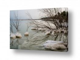 תמונות לפי נושאים השתקפות | ים המלח