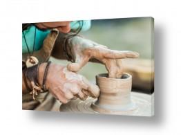 תמונות לפי נושאים ידיים | עבודת הקדר