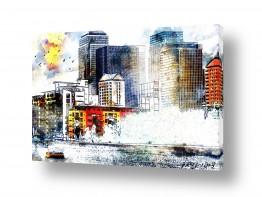 אמנים מפורסמים ציורים שנמכרו | עיר בצבע