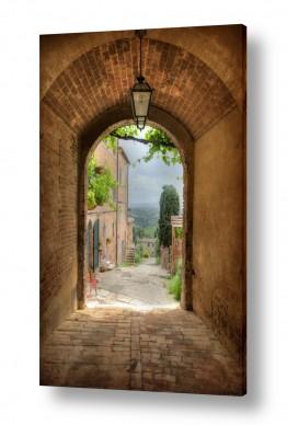 דלתות דלת וחלון | מבט קשתי