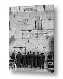 ירושלים הכותל המערבי | מתפללים