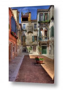 צילומים מבנים וביניינים | סמטה ציורית