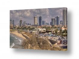 שמים עננים | חוף תל אביב