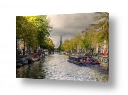 אירופה הולנד | שייט בתעלות אמסטרדם