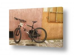 כלי רכב אופניים | אופניים וקיר