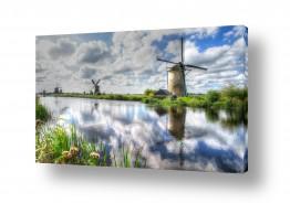 אירופה הולנד | טחנות ררוח בהולנד