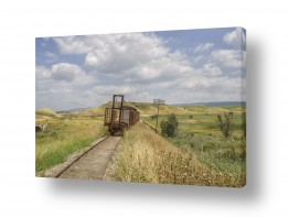 כלי רכב רכבת | רכבת העמק - סוף הדרך