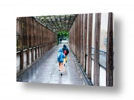 צילומים אורי לינסקיל | בדרך לרכבת התחתית