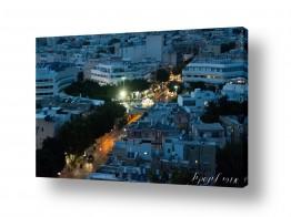 צילומים ארץ ישראלי | רחוב בשקיעה