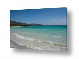 נוף תמונה פנורמית | חוף טורקיז