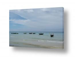 מיים ים | סירות דייגים במפרץ