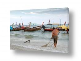 אסיה תאילנד | סירות דייגים