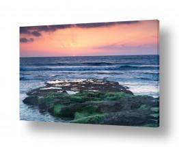 נוף תמונה פנורמית | סלע ירוק
