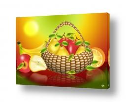 אוכל פירות | סל פירות