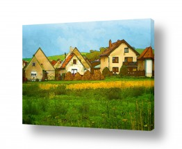 בתים גגות | זיכרונות הכפר