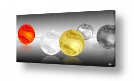 צבעים שילובים של צבע שחור | כדורים  מיוחדים שלי
