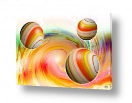 אבסטרקט מופשט מופשט גיאומטרי | צבע לנפש