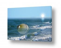 ציורים אמנות דיגיטלית | כד בים