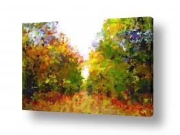 ציורים ויקטוריה רייגירה | שמורת  טבע