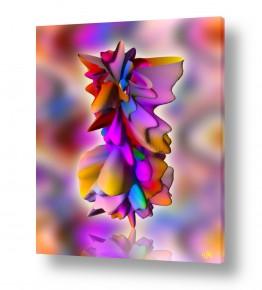 ציורים אבסטרקט | איזון נפשי