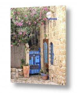 צילומים עירוני | דלת כחולה ביפו