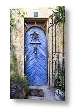 צילומים עירוני | דלת כחולה בימין מושה