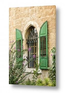 טבע דומם חלונות | תריסים פתוחים