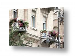 תמונות לפי נושאים פנס רחוב | מרפסות ירושלמיות