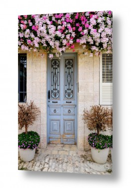 צילומים ויויאן נתן | דלת תכלת בימין משה