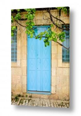 צילומים ארץ ישראלי | דלת טורקיז בימין משה (2)