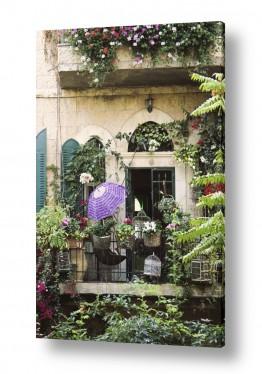 צילומים ארץ ישראלי | מרפסת רומנטית