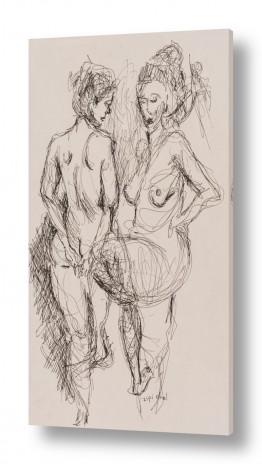 אנשים ודמויות עירום | מודל בסטודיו