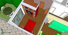 חדר שינה + חדר ארונות